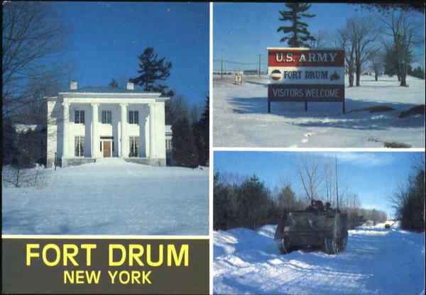 Fort Drum New York, NY