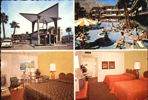 Dunes Hotel, 390 South Indian Avenue Palm Springs California