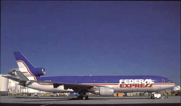 Federal Express MD-11F Aircraft
