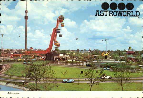Rides At Astroworld Houston Texas