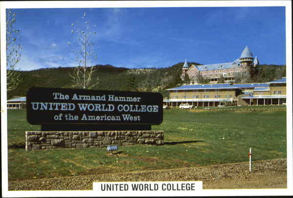 Armand Hammer United World College Armand Hammer United World