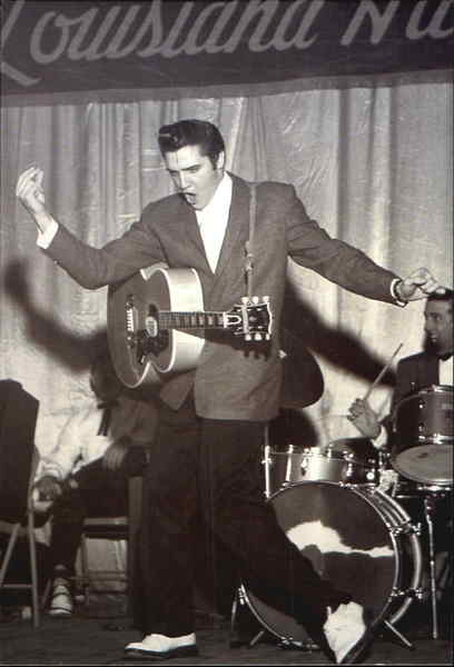 What Is My Paypal Email >> Elvis Performing At The Louisiana Hayride Radio Show ...