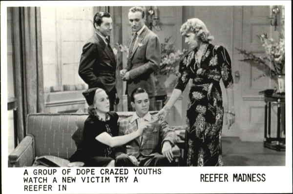 Reefer Madness Advertising