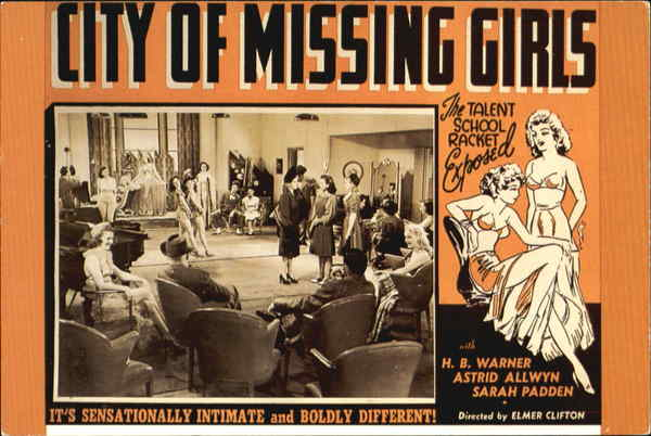 City Of Missing Girls Advertising