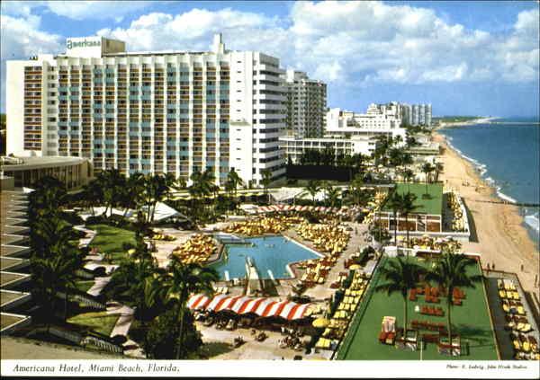 The Americana Hotel Miami Beach Fl