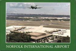 Norfolk International Airport Postcard