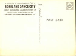 Roseland Dance City, 52nd Street West of Broadway
