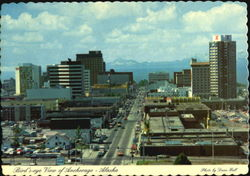 Bird's Eye View Of Anchorage