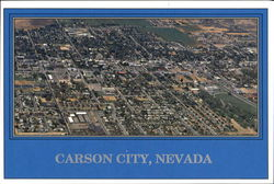 Aerial View Of Carson City