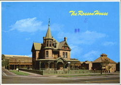 The Rosson House, Heritage Squage 6th Street and Monroe Postcard