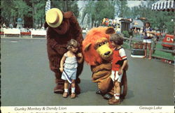 Gunky Monkey & Dandy Lion, Geauga Lake