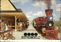610 Limited At Astroworld Postcard