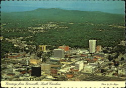 Greetings From Greenville Postcard