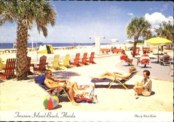 Treasure Island Beach Postcard