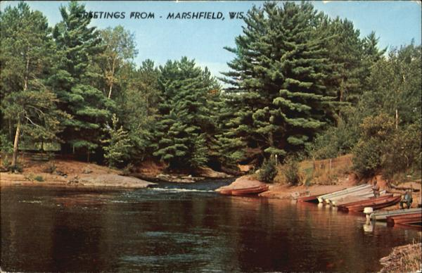 A Favorite Fishing Spot In Vacationland Marshfield Wisconsin