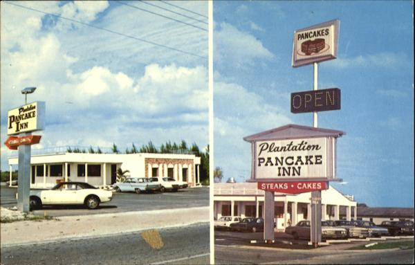 Plantation Pancake Inn, 1345 5th Ave. So. U. S. 41 Naples Florida