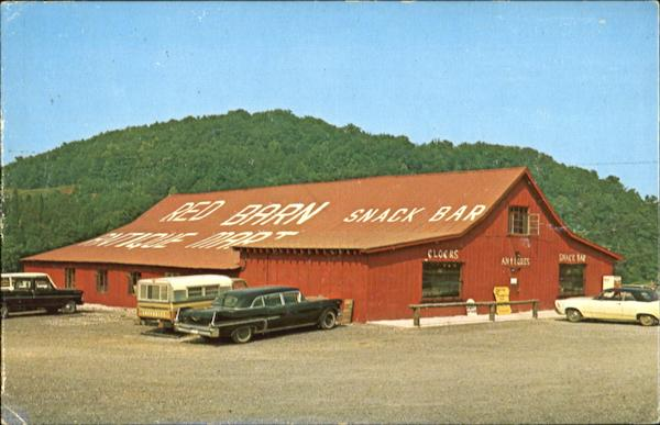 The Red Barn Antique Mart Knoxville Tennessee