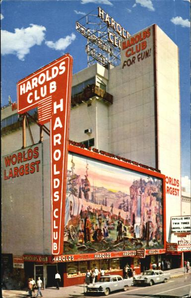 For Fun In RenoIt's Harolds Club Nevada