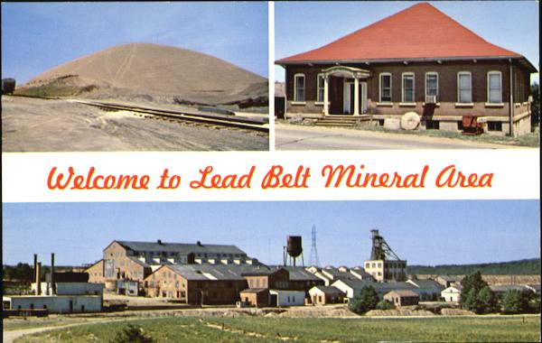 Welcome To Lead Belt Mineral Area, Route 67 Bonne Terre Leadington Missouri