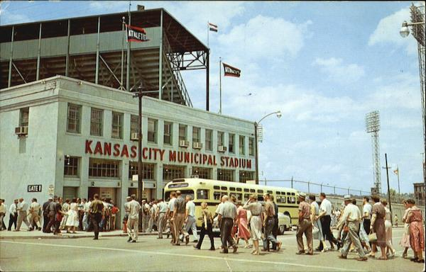 Kansas City's Beautiful Municipal Stadium Missouri