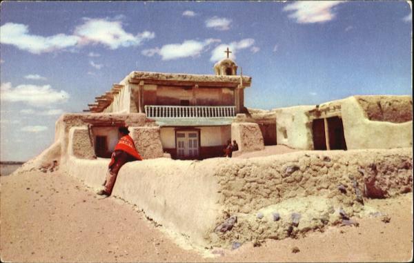 Old Town Santa Fe >> The Mission Of Santa Ana Pueblo New Mexico