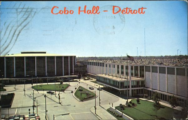 Cobo Hall And Convention Arena Detroit Michigan