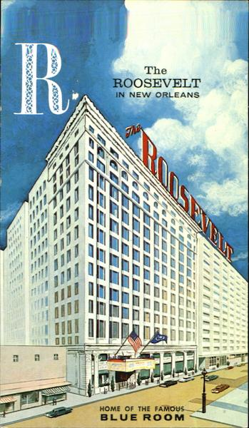 The Roosevelt Hotel New Orleans, LA