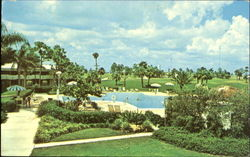 Swimming Pool At Country Club Motel