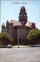 Wise County Court House Postcard