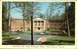 Marshall Hall Mary Washington College