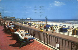Relaxing In Atlantic City Postcard