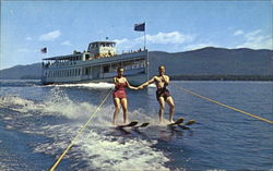 Water Skiing On Lake George