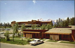 Cottages At Jackson Lake Lodge, Grand Teton National Park Postcard