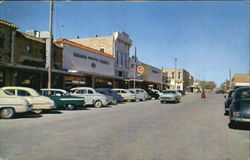 Business District Of Comanche