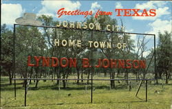 Greetings From Texas Johnson City