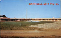 Campbell City Motel And Dinner House, Missouri On Highway 65