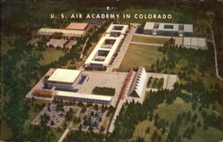 Aerial View Of U. S. Air Academy