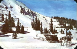 Summit Of Berthoud Pass And The Twin Chair Ski Lift, U. S. 40
