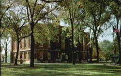 Old Main Knox College Postcard