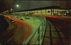 Chicago-O'Hare International Airport Terminal Building Postcard