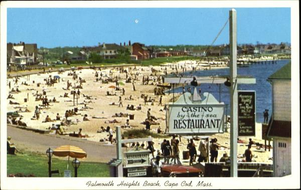 Falmouth Heights Beach Cape Cod Massachusetts