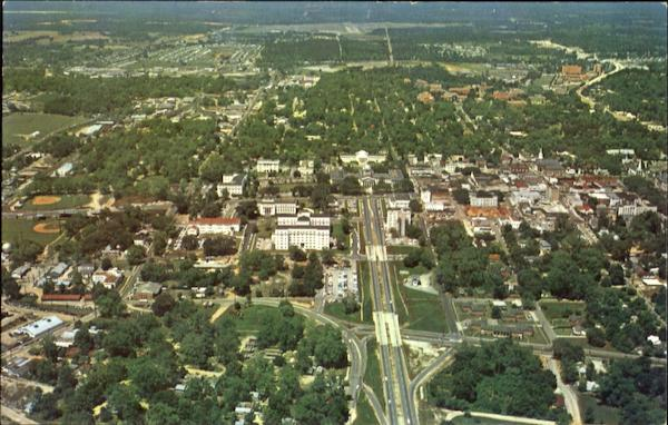 Aerial View Of Tallahassee Florida