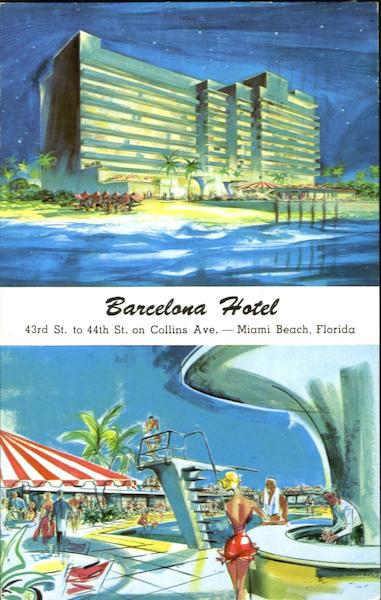 Barcelona hotel 43rd street to 44th st on collins ave for Ave hotel barcelona madrid