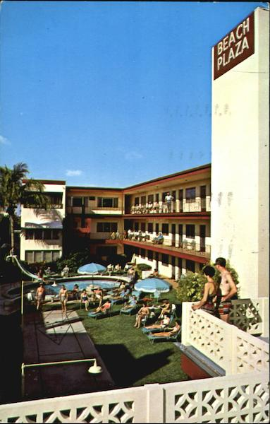Beach Plaza Apartment Hotel, 625 N. Atalantic Blvd., Route A1A Fort Lauderdale Florida