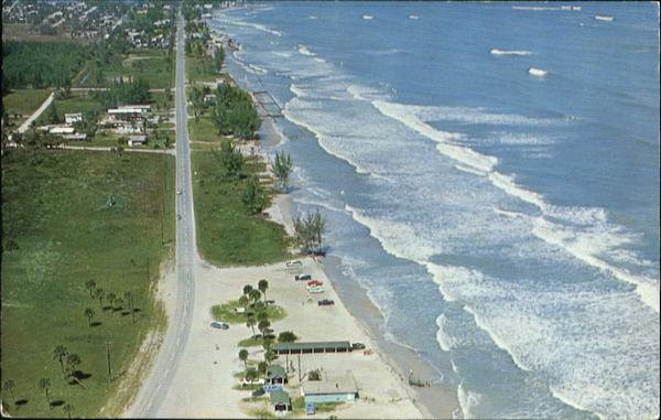 Air View Of Fort Pierce Florida