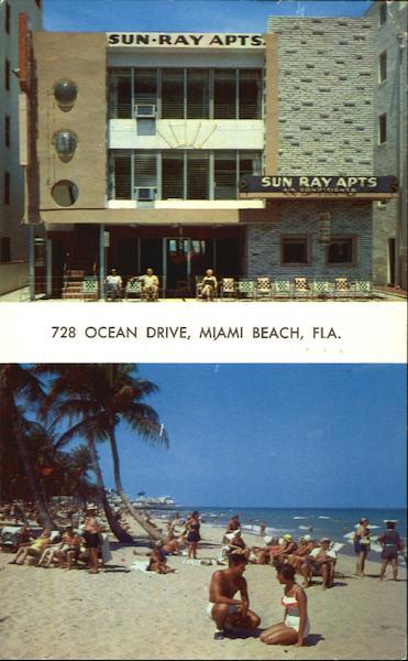 Sun Ray Apartments 728 Ocean Drive Miami Beach Fl