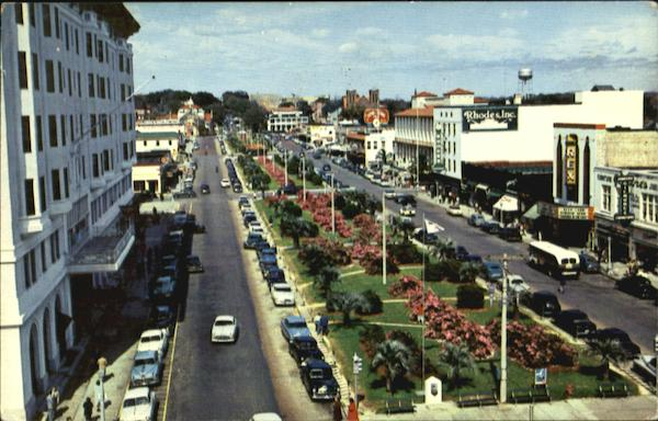 Pensacola's Lovely Parkway, North Palafax St Florida