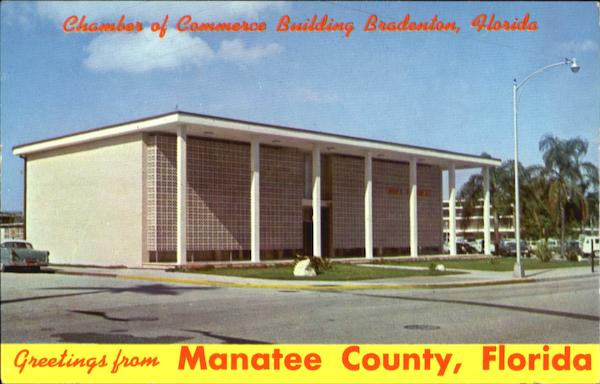 Greetings From Manatee County, Manatee County Bradenton Florida