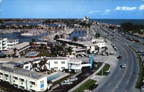 Bahia Mar Yacht Basin And New Highway Aia Fort Lauderdale Florida