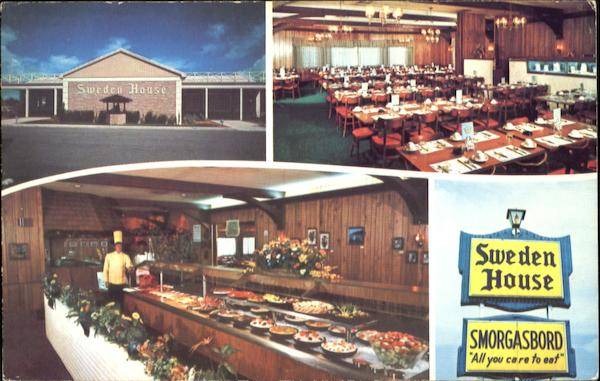Sweden House Smorgasbord Restaurants